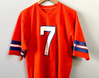 Vintage Denver Broncos John Elway Jersey NFL Size Large Mint Champion Brand  80s Made in USA 712879483