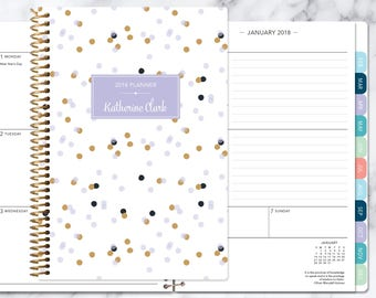 personalized planner etsy