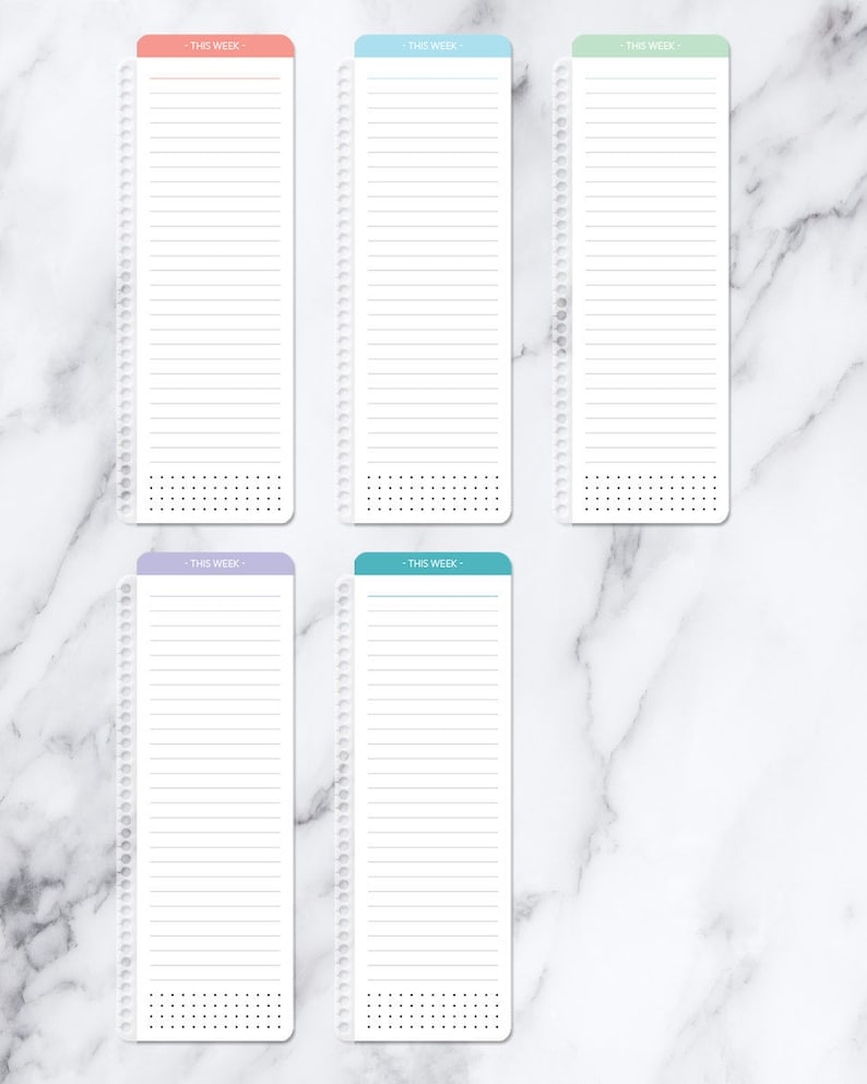 PAGEMARKER for planner bookmark clip-in page marker  image 1