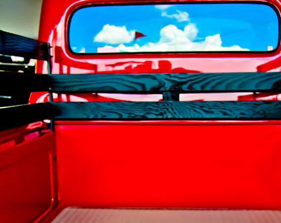Ford F-1 Pickup Truck 1952 Fine Art Print or Canvas Gallery Wrap