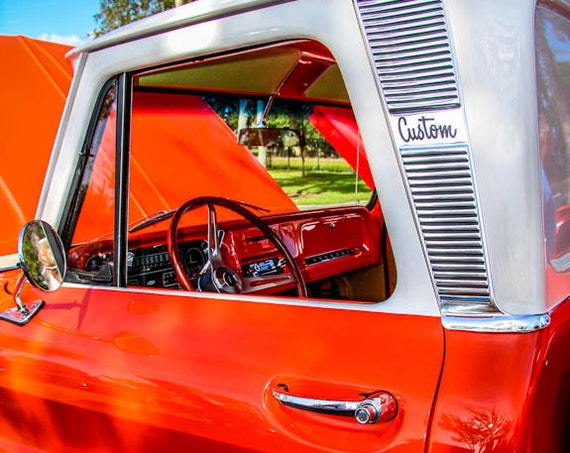 1966 Chevrolet C10 Pickup Truck Fine Art Print or Canvas Gallery Wrap