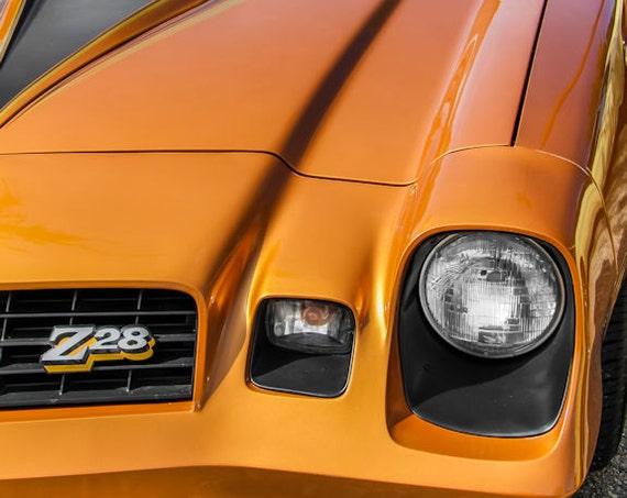 Chevrolet Camaro Z28 Fine Art Print or Canvas Gallery Wrap