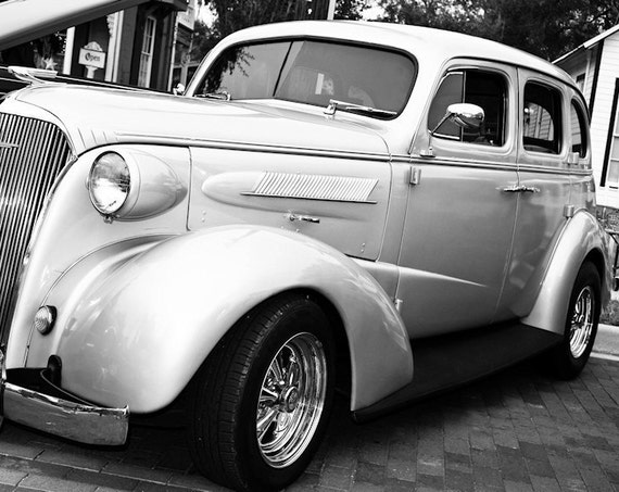 Chevrolet Coupe Car 1937 Fine Art Print or Canvas Gallery Wrap