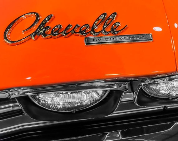 Chevrolet Chevelle Car Fine Art Print or Canvas Gallery Wrap