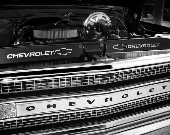 Chevrolet Pickup Truck Fine Art Print or Canvas Gallery Wrap