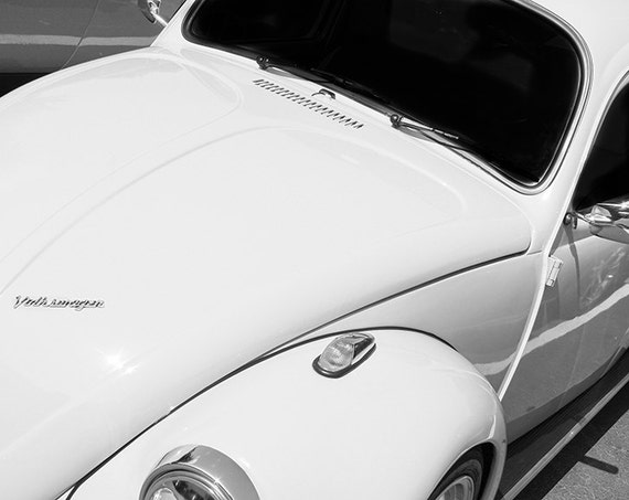 Volkswagen VW Beetle Car Fine Art Print or Canvas Gallery Wrap