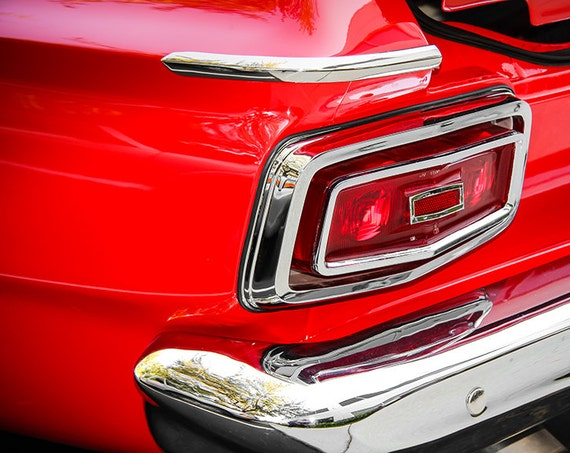 Plymouth Fury Tail Light Fine Art Print or Canvas Gallery Wrap