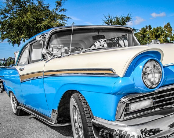 1957 Ford Fairlane Fine Art Print or Canvas Gallery Wrap