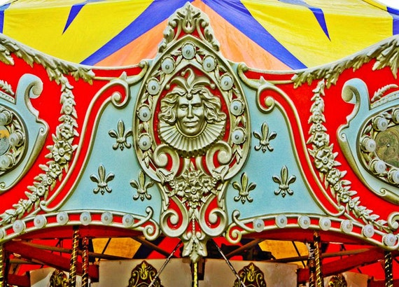 Prince Charming Carousel Ride Fine Art Print or Canvas Gallery Wrap