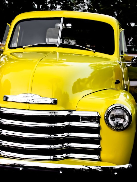 Chevrolet 3100 Pickup Truck Car Fine Art Print or Canvas Gallery Wrap
