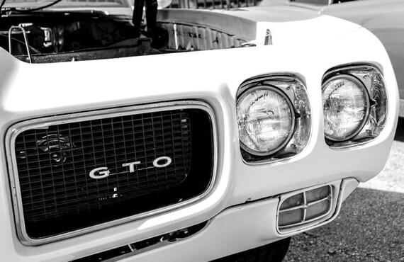 Pontiac GTO Trans Am Car Fine Art Print or Canvas Gallery Wrap