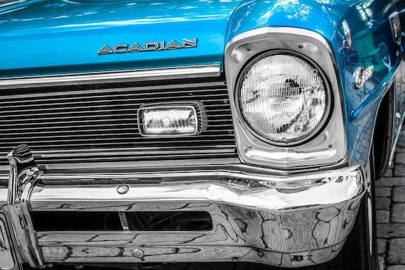Acadian Canso Car 1967 Fine Art Print or Canvas Gallery Wrap