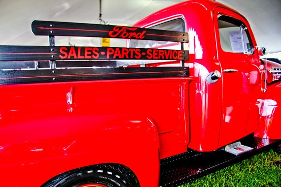 1952 Ford F-1 Pickup Truck Fine Art Print or Canvas Gallery Wrap