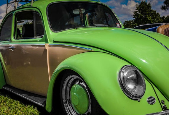 1965 Volkswagen Beetle Fine Art Print or Canvas Gallery Wrap
