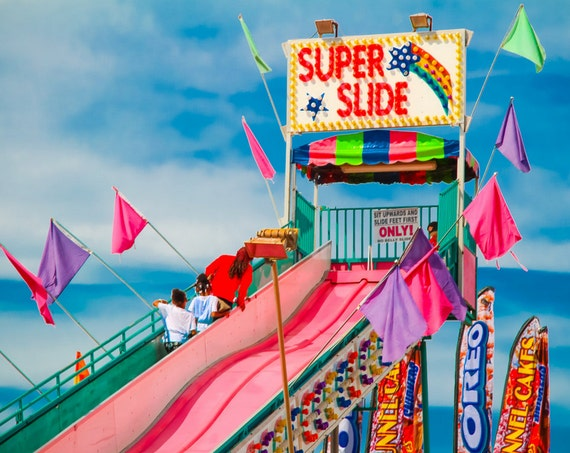 Super Slide Fine Art Print or Canvas Gallery Wrap