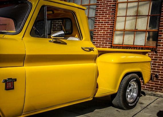 Chevrolet 10 Pickup Truck Car Fine Art Print or Canvas Gallery Wrap