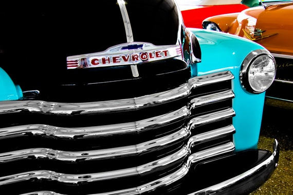1952 Chevrolet 3100 Pickup Truck Fine Art Print or Canvas Gallery Wrap