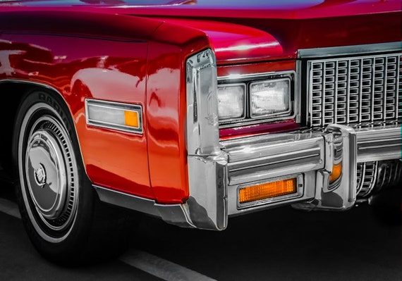 1976 Cadillac Eldorado Car Fine Art Print or Canvas Gallery Wrap