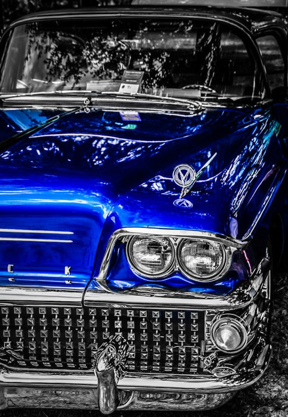 1958 Buick Rivera Car Fine Art Print or Canvas Gallery Wrap
