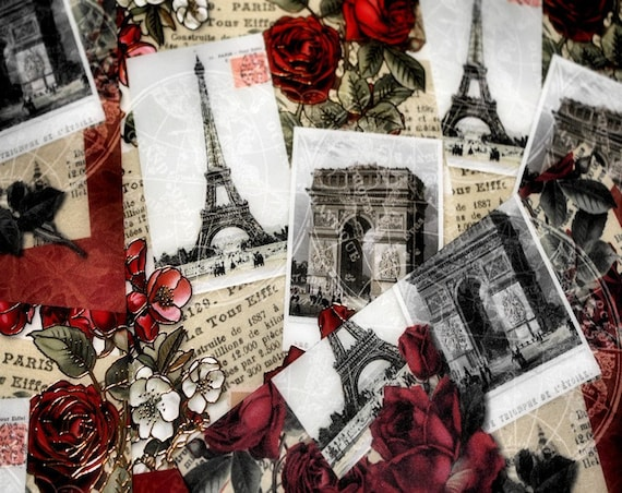 Postcards From Paris Fine Art Print or Canvas Gallery Wrap