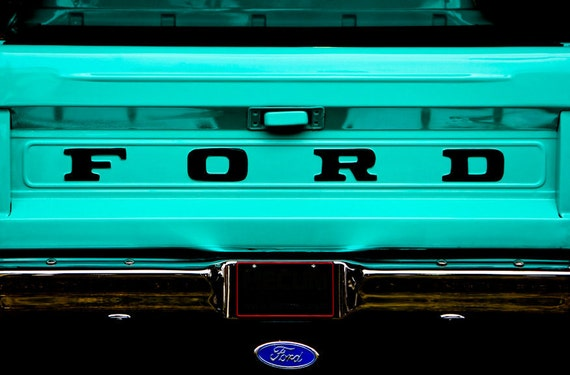 Ford Pickup Truck Fine Art Print or Canvas Gallery Wrap