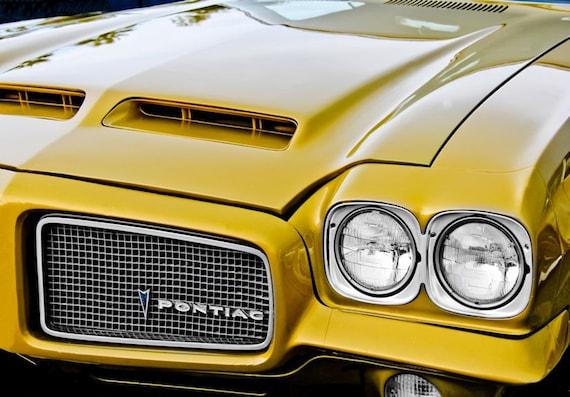Pontiac LeMans Car 1971 Fine Art Print or Canvas Gallery Wrap