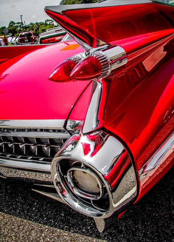 Cadillac Coupe de Ville Car Fine Art Print or Canvas Gallery Wrap