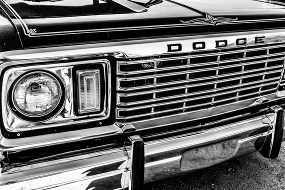 1978 Dodge Express Pickup Truck Fine Art Print or Canvas Gallery Wrap