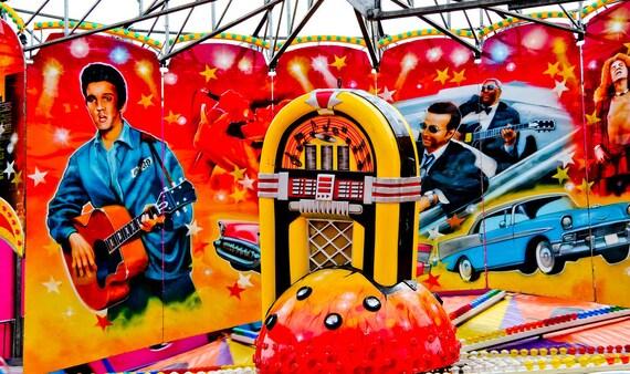 Elvis Rock N' Roll Ride Fine Art Print or Canvas Gallery Wrap