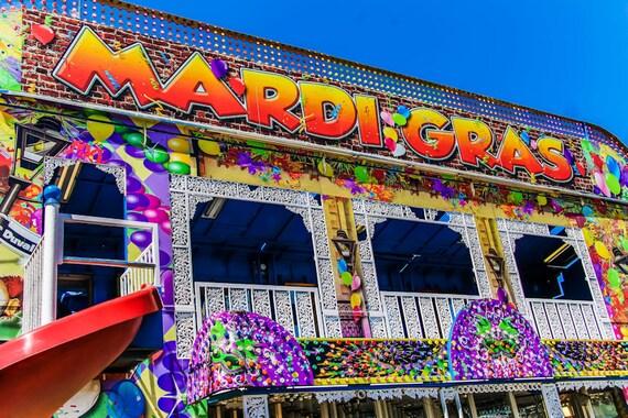 Mardi Gras Carnival Fine Art Print or Canvas Gallery Wrap