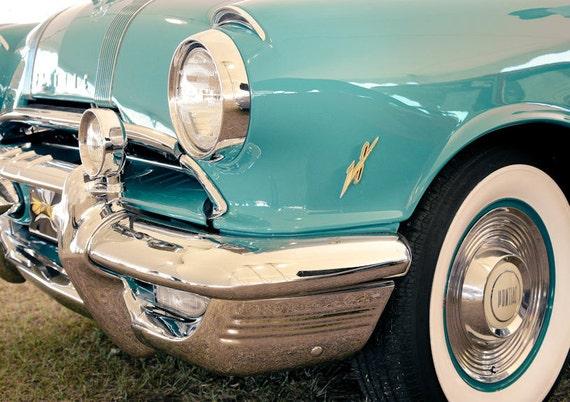 Pontiac Star Chief Car 1955 Fine Art Print or Canvas Gallery Wrap