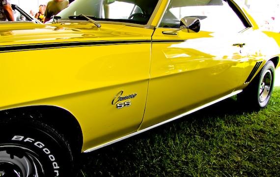 1969 Chevrolet Camaro Car Fine Art Print or Canvas Gallery Wrap