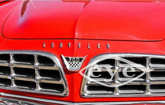 Chrysler 300 Car Fine Art Print or Canvas Gallery Wrap