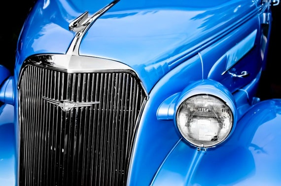 Chevrolet Master Deluxe Car Fine Art Print or Canvas Gallery Wrap