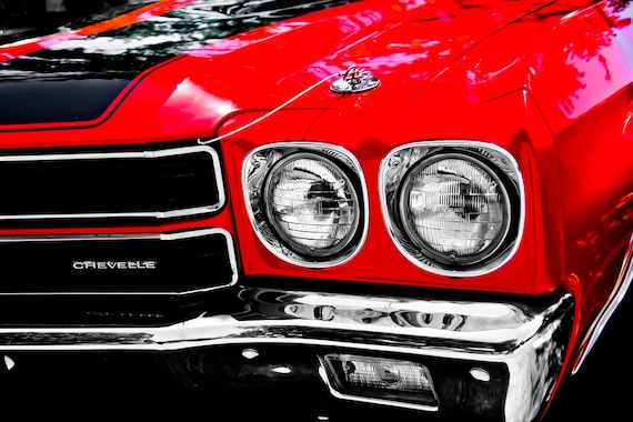 Chevrolet Chevelle Fine Art Print or Canvas Gallery Wrap