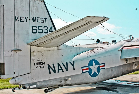Key West US-2B Tracker Airplane Fine Art Print or Canvas Gallery Wrap