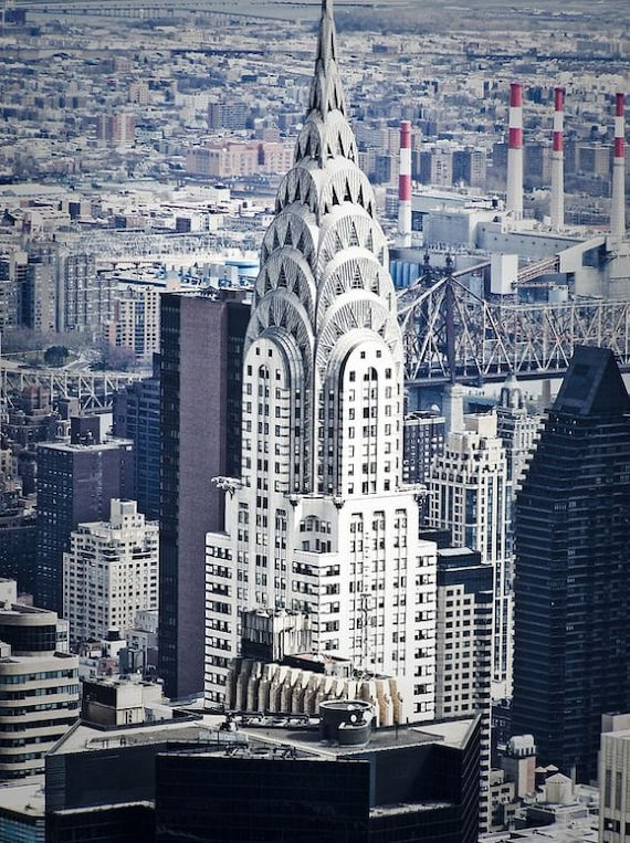Chrysler Building New York City Fine Art Print or Canvas Gallery Wrap