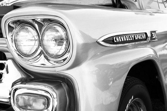 1959 Chevrolet Apache Pickup Truck Fine Art Print or Canvas Gallery Wrap
