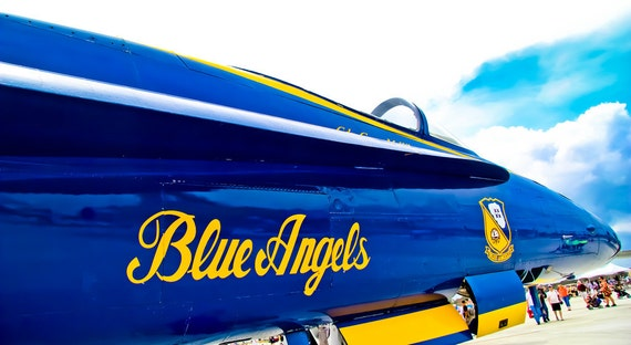 Blue Angels - F/A-18 Hornet Plane Fine Art Print or Canvas Gallery Wrap