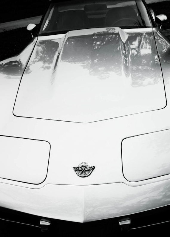 Chevrolet Corvette Car Fine Art Print or Canvas Gallery Wrap