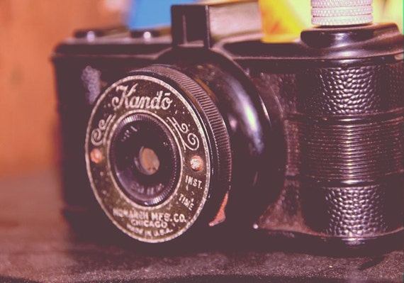 Vintage Kando Camera Fine Art Print or Canvas Gallery Wrap