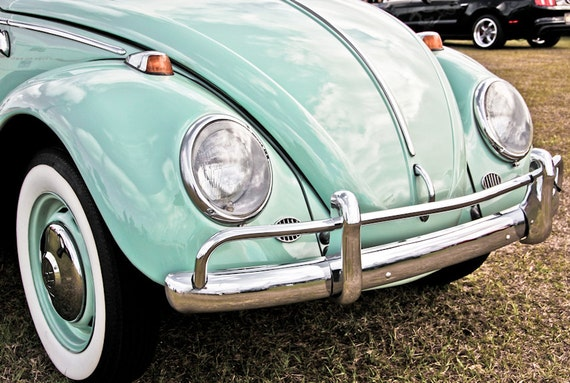 1966 Volkswagen Beetle Fine Art Print or Canvas Gallery Wrap