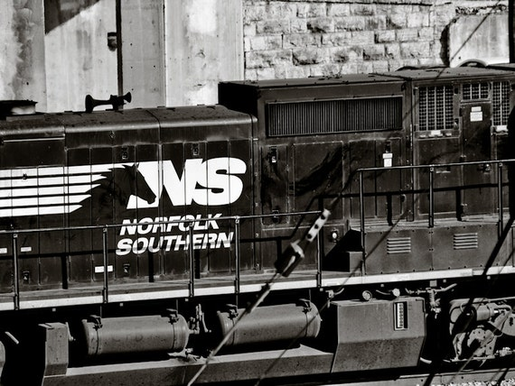 Norfolk Southern Railway Train Fine Art Print or Canvas Gallery Wrap