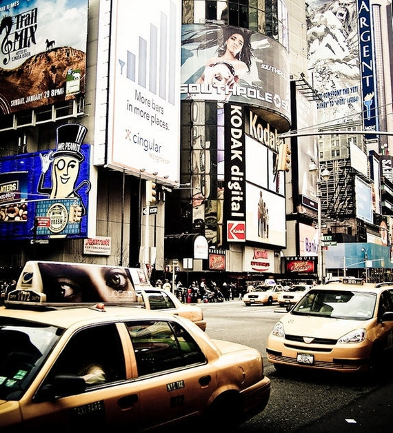 Times Square New York Fine Art Photograph Print Photography