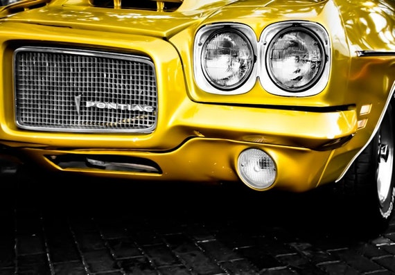 1971 Pontiac LeMans Car Fine Art Print or Canvas Gallery Wrap