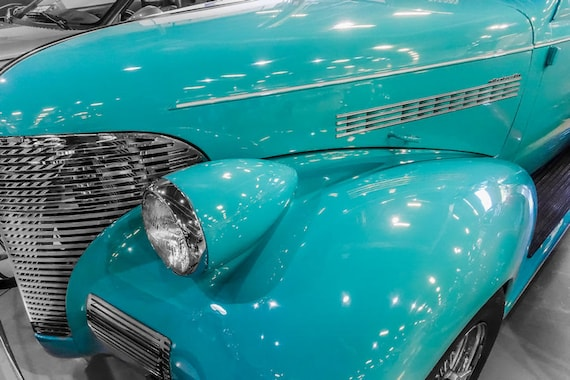 Chevrolet Master Deluxe Car 1935 Fine Art Print or Canvas Gallery Wrap