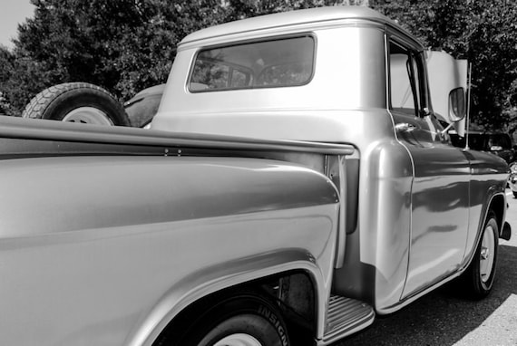 GMC 100 Truck 1956 Fine Art Print or Canvas Gallery Wrap