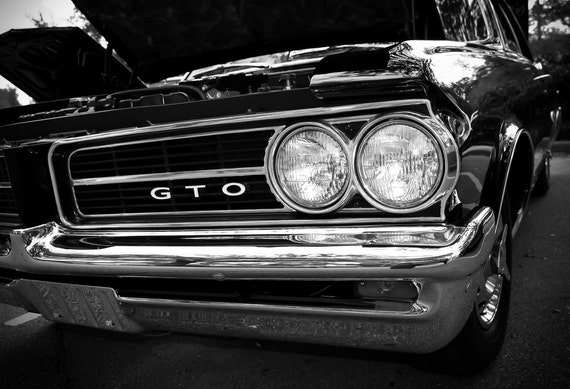 1964 Pontiac GTO Car Fine Art Print or Canvas Gallery Wrap