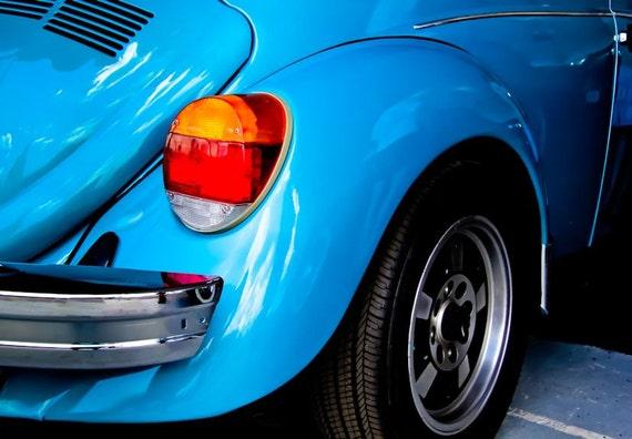 1979 Volkswagen Super Beetle Car Fine Art Print or Canvas Gallery Wrap