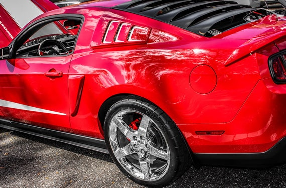 Ford Mustang ROUSH  427R Car Fine Art Print or Canvas Gallery Wrap